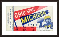 1951 Ohio State vs. Michigan Picture Frame print