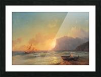 Sea. Koktebel Picture Frame print