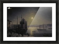 Moonlight on the Bosphorus Picture Frame print