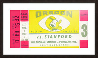 1962_College_Football_Oregon vs. Stanford_Multnomah Stadium_Row One Brand Picture Frame print