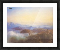 Range of the Caucasus mountains Picture Frame print