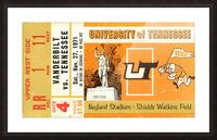 1971 Vanderbilt vs. Tennessee Picture Frame print