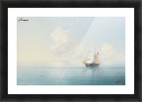 A Calm Morning at Sea Picture Frame print