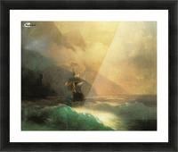 Marine landscape Sea Picture Frame print