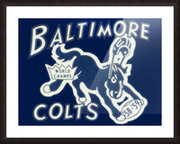 1959_National Football League_Baltimore Colts_World Champions_Row One Picture Frame print