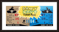 1964 Army vs. Navy Picture Frame print