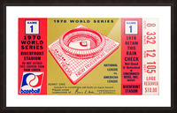 1970_Major League Baseball_World Series_Cincinnati Reds vs. Baltimore Orioles_Riverfront Stadium Picture Frame print