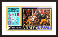 1968_College_Football_Army vs. Navy_John F. Kennedy Stadium_Philadelphia_Row One Brand Picture Frame print