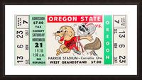 1970_College_Football_Oregon vs. Oregon State_Parker Stadium_Corvallis_Row One Brand Picture Frame print