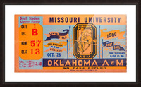 1950_College_Oklahoma vs. Oklahoma State_Lewis Field_Stillwater_Row One Brand Picture Frame print