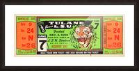 1950_College_Football_Tulane vs. LSU_Tiger Stadium_Baton Rouge_Row One Brand Picture Frame print