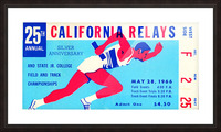 1966_Track and Field_California Relays_Row One Brand Picture Frame print