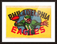 1970s_National Football League_Philadelphia Eagles_Row One Brand Picture Frame print