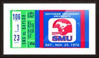 1972_College_Football_Baylor vs. SMU_Cotton Bowl Stadium_Dallas_Row One Brand Picture Frame print