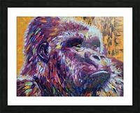 Gorilla Closeup Picture Frame print