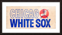 1962 Chicago White Sox Art Picture Frame print