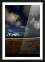 Shadow of the Palm  Picture Frame print