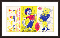 1955_College_Football_Oregon State vs. UCLA_Los Angeles Coliseum_Row One Brand Picture Frame print