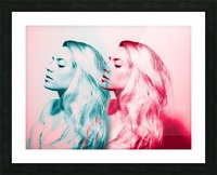 Double Vision Picture Frame print