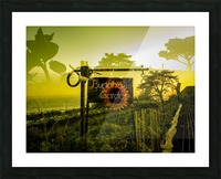 Buddha Was Here Picture Frame print