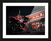 Honda At The Temple Picture Frame print