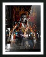 The Empress Picture Frame print