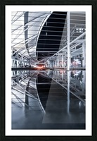 Union Station Reflection Picture Frame print