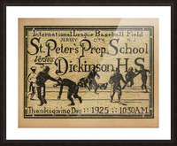 1925 St. Peters Prep Picture Frame print