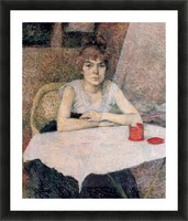 Face powder by Toulouse-Lautrec Picture Frame print