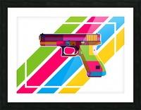 Glock Handgun Picture Frame print