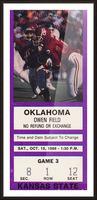 1988 Kansas State vs. Oklahoma Picture Frame print