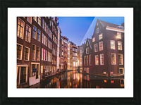 Amsterdam Lights Picture Frame print