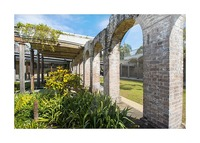 Paddington Reservoir gardens Picture Frame print