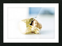 Popped Champagne cork and foil Picture Frame print