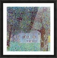 Farmhouse in Upper Austria by Klimt Picture Frame print
