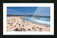 Bondi Beach Panoramic Picture Frame print