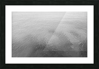 Open Waters B&W Picture Frame print