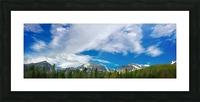 Rocky Mountain Range Picture Frame print