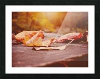 Fallen Picture Frame print