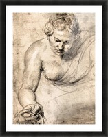 Female figure by Rubens Picture Frame print