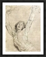 Figure Study of Christ by Rubens Picture Frame print