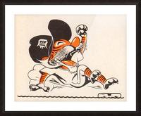 1971_Major League Baseball_Detroit Tigers_Best Sports Cartoons Picture Frame print