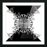 Black & white Picture Frame print
