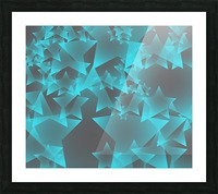 star Picture Frame print