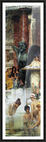 A bathroom (An ancient tradition) by Alma-Tadema Picture Frame print