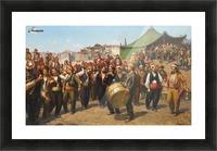 Bayram Celebration Picture Frame print