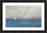 Franzasische Riviera Picture Frame print