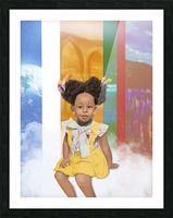 child Picture Frame print