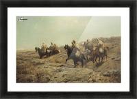 Arabische Krieger Picture Frame print
