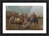 Arab caravan patrol Picture Frame print